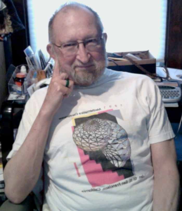 David Fowler, 1991 Mathematica User Conference T-shirt
