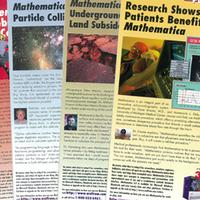 1997: Highlighting achievements by users of Mathematica…