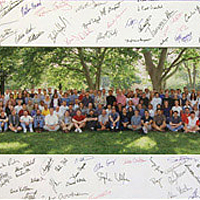 2003: The core team at Wolfram company headquarters gathers for the 15th anniversary…
