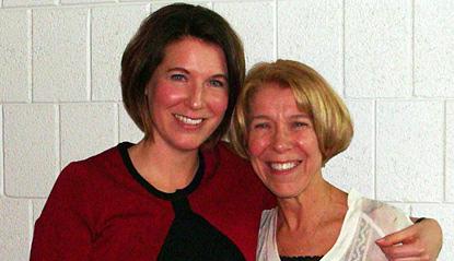Nancy Brachbill and Shannon Smith