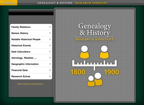 Genealogy & History Research Assistant App