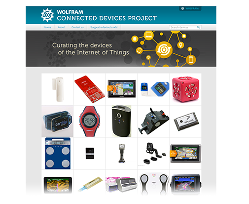 Wolfram Connected Devices Project