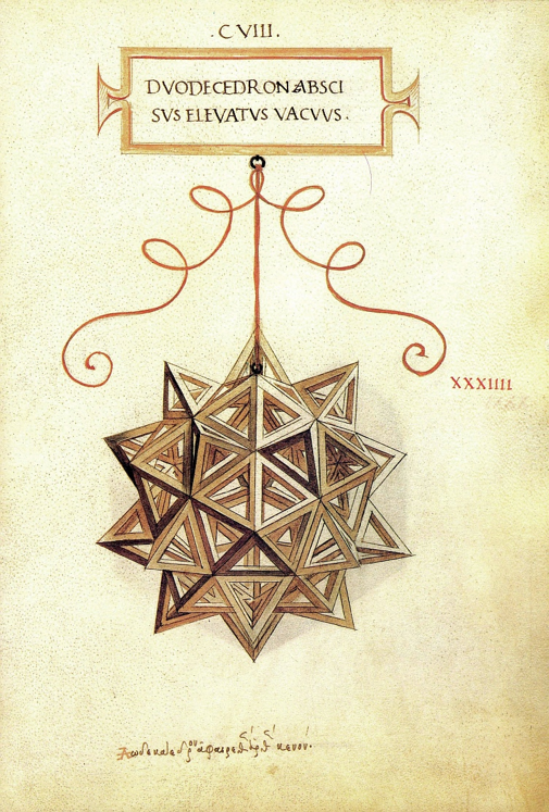 Duodecedron Abscisus Elevatus Vacuus