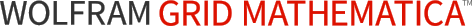 Wolfram gridMathematica logotype