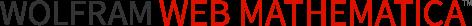 Wolfram webMathematica logotype