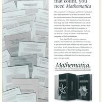 1991: Mathematica's influence in research begins to grow…