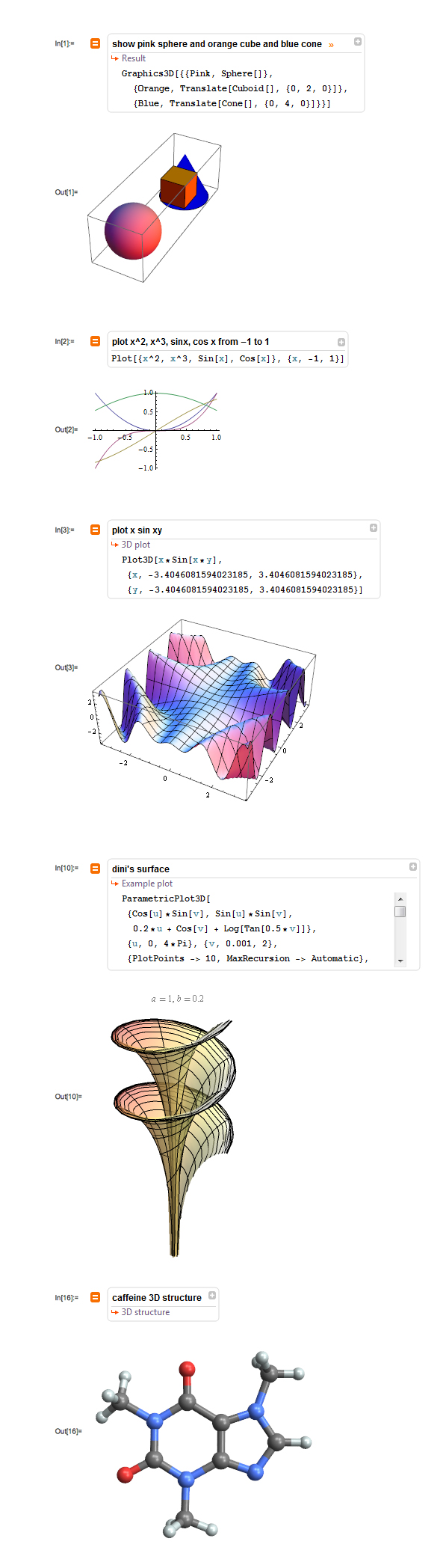 Free-form linguistic input in Mathematica