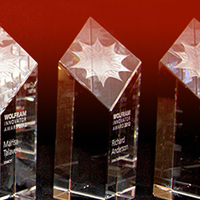 2011: Wolfram Innovator Awards—recognizing innovations with Wolfram technologies