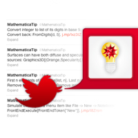 May 7, 2011: Our Mathematica hints and tips Twitter feed is launched