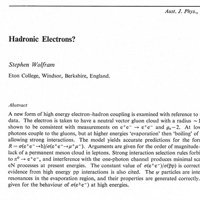 1975: Publishing a physics paper…