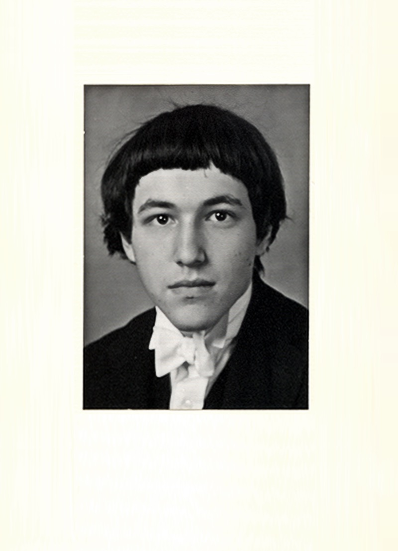 The life and times of Stephen Wolfram. 1976: In Eton regalia...
