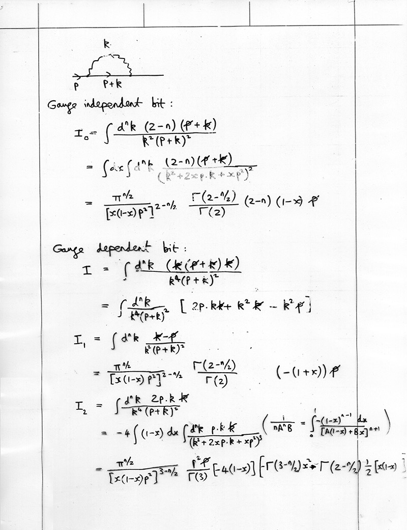 The life and times of Stephen Wolfram. 1976: Particle physics calculations... or life before Mathematica...