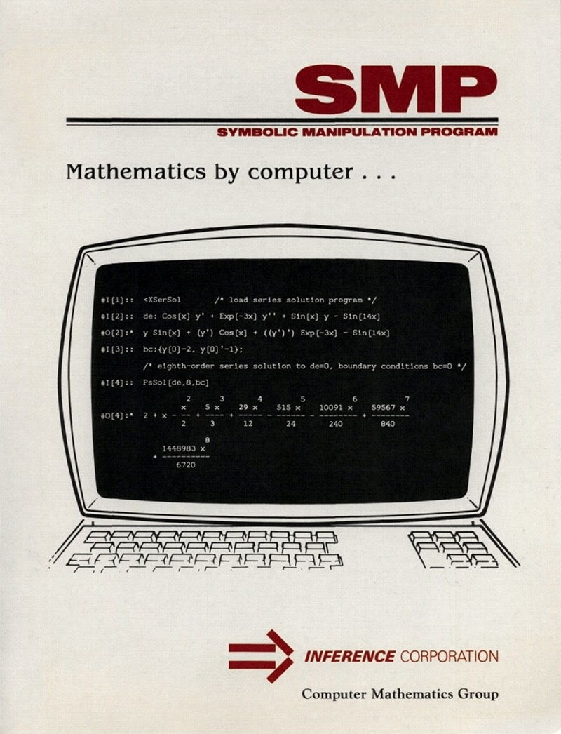 The life and times of Stephen Wolfram. 1981: Mathematica's immediate ancestor...