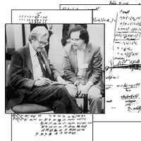 1984: Feynman tries to prove that Wolfram is wrong…