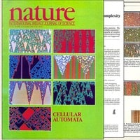 1984: Cellular automata grace the cover of Nature magazine…