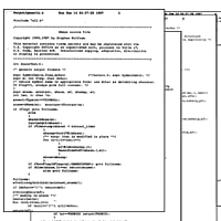 1987: It all starts with C code…
