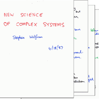 1987: Summarizing complex systems just before leaving the field…
