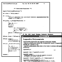 1987: Mathematica is alive! Programs in Mathematica before it was Mathematica…
