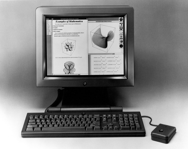 1988_bundledThe life and times of Stephen Wolfram. 1988: Mathematica is bundled on every NeXT computer...