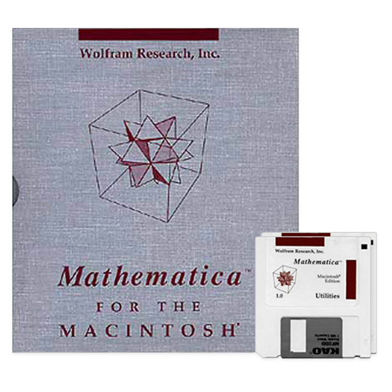 The life and times of Stephen Wolfram. June 23, 1988: Mathematica Version 1...