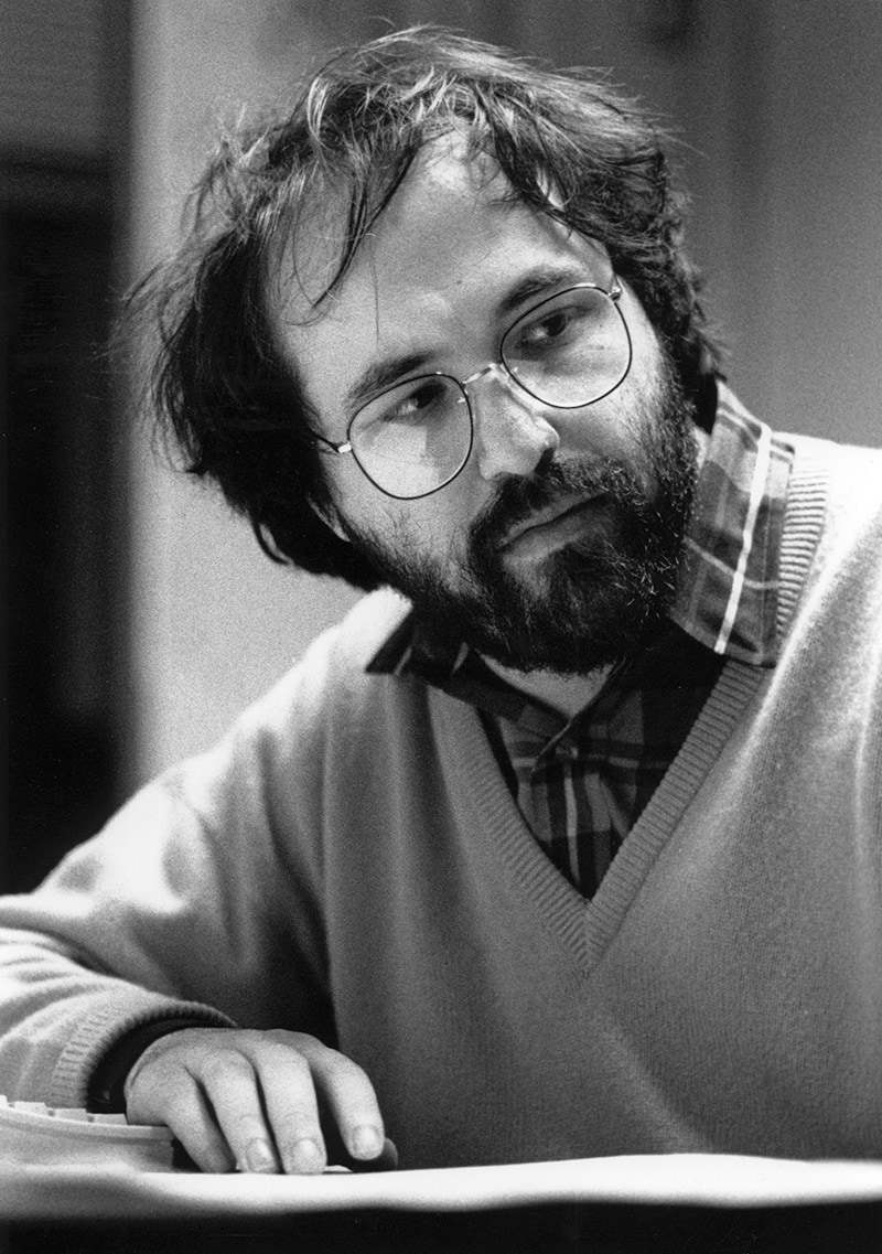 The life and times of Stephen Wolfram. 1989: A brief bearded phase...