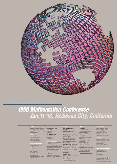 The life and times of Stephen Wolfram. 1990: The first Mathematica Conference...