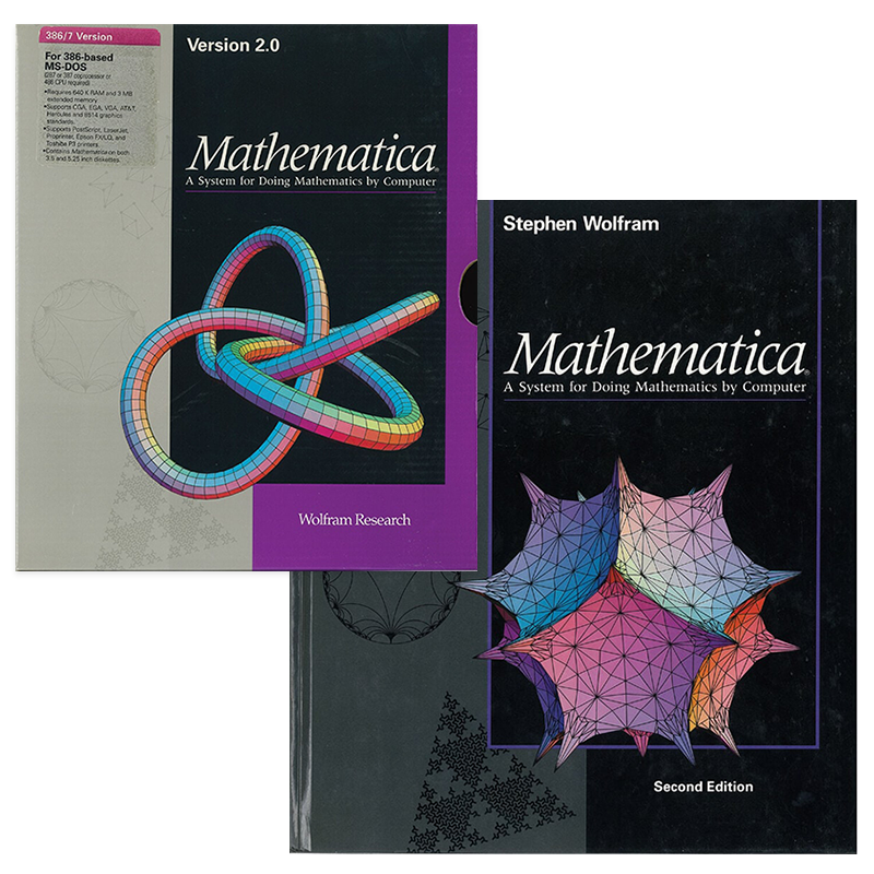 The life and times of Stephen Wolfram. 1991: Mathematica 2 is released...