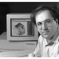 1991: Posing for the release of Mathematica 2…
