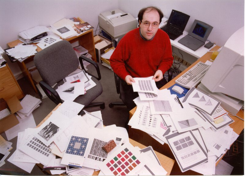 The life and times of Stephen Wolfram. 1994: Hard at work on A New Kind of Science...