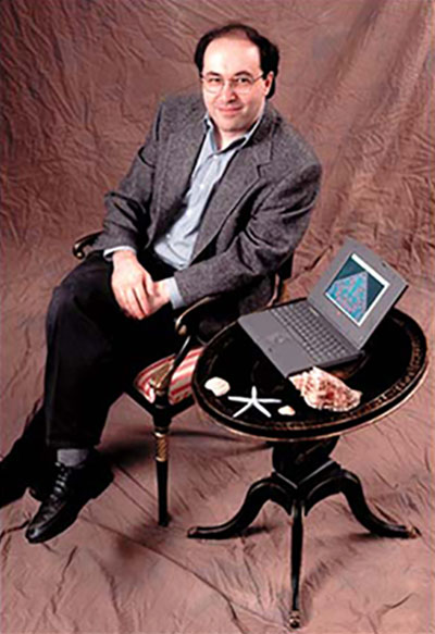 Stephen Wolfram Scrapbook. 1995: It was going to be a publicity shot for A New Kind of Science—but years too early...