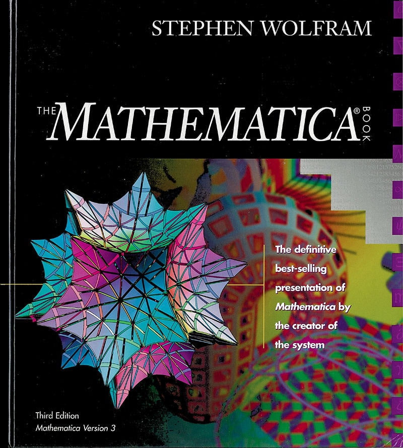 The life and times of Stephen Wolfram. 1996: Mathematica 3 is released...