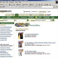 2002: NKS is #1 on Amazon…