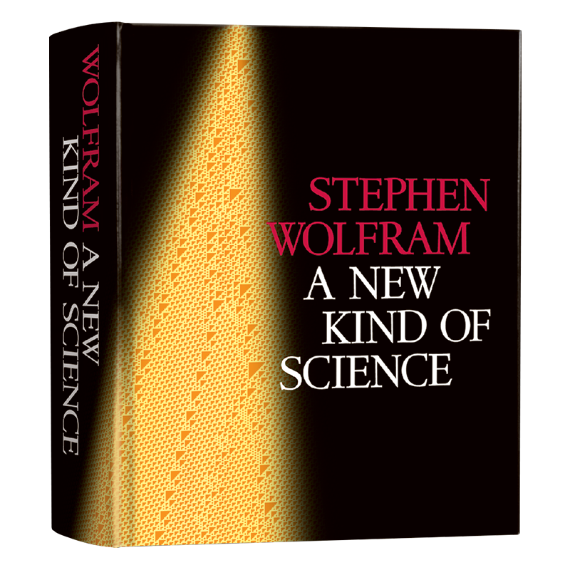The life and times of Stephen Wolfram. 2002: NKS is finally printed...