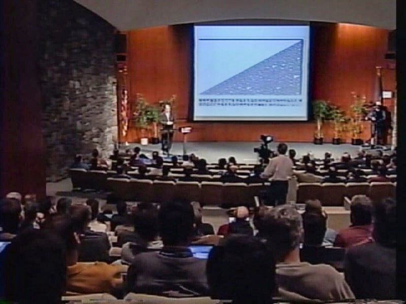 The life and times of Stephen Wolfram. 2002–2003: NKS goes on tour (to 50 cities)...