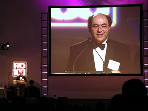 "The life and times of Stephen Wolfram. 2002: ""Award-winning"" means you have to pick up the awards..."