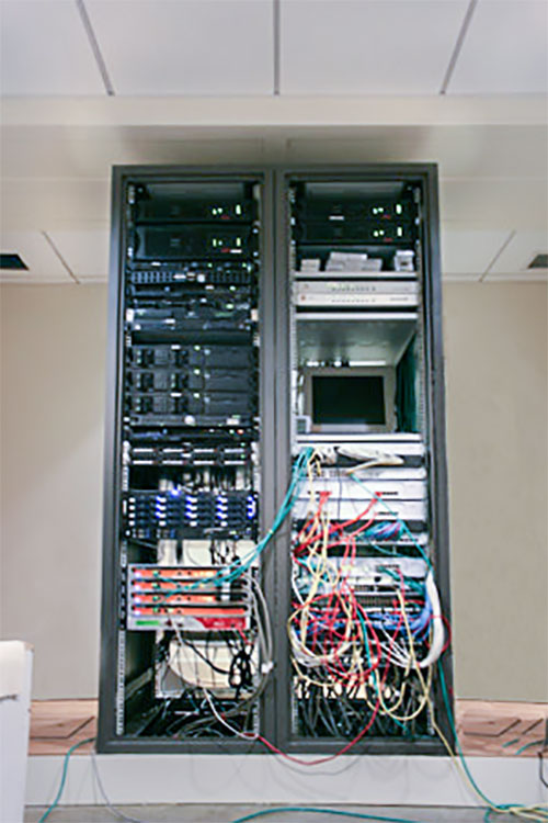The life and times of Stephen Wolfram. 2002: The personal server room grows