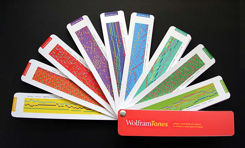 The life and times of Stephen Wolfram. 2005: WolframTones is launched...