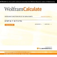 2006: The concept of Wolfram|Alpha begins to build…