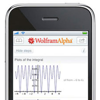 2009: Wolfram|Alpha goes mobile