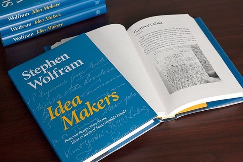 The life and times of Stephen Wolfram. 2016: Lives and ideas of some notable people...