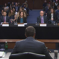 2019: Testifying at the US Senate…