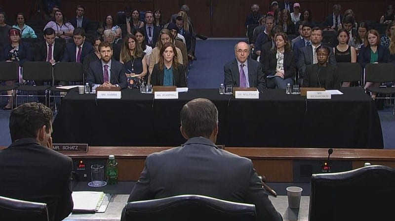 The life and times of Stephen Wolfram. 2019: Testifying at the US Senate...