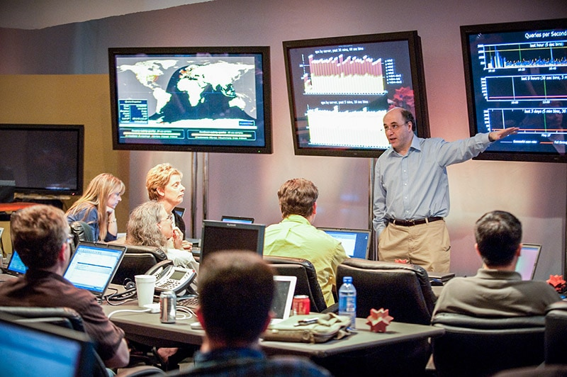 The life and times of Stephen Wolfram. 2009: Ready to push the button to launch Wolfram|Alpha
