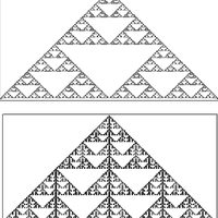 1982: Cellular automata make fractals…