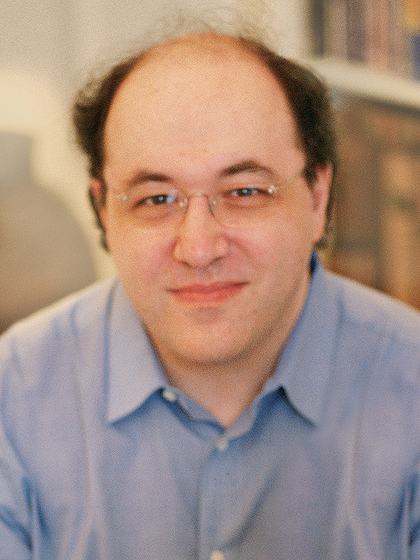 The life and times of Stephen Wolfram. 2002: Posing for the dust jacket: a little tired, but satisfied to have finished writing NKS...