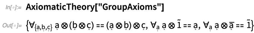 AxiomaticTheory