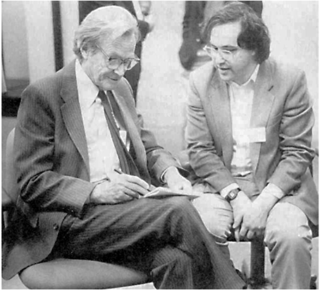 Richard Feynman and Stephen Wolfram