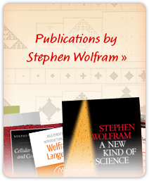 Publications by Stephen Wolfram »