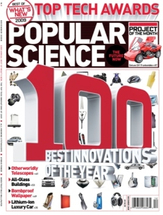 Popular Science's 100 Best Innovations of the Year issue