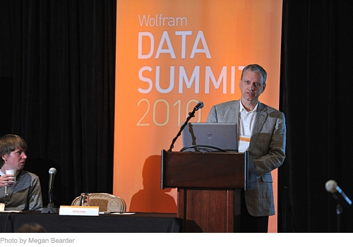 Presentations at the Wolfram Data Summit 2010